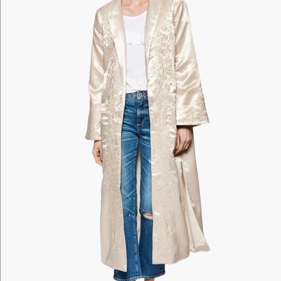 Jackets & Blazers - Maryella Coat - Sandy Shell Embroidery